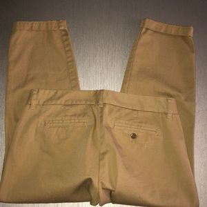 new J crew Broken in Scont Chino size 6